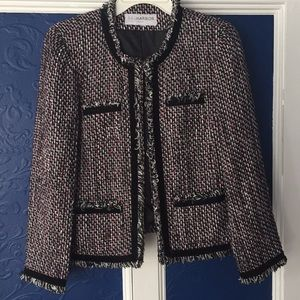 Sag harbor jacket blazer Pinks magenta white black